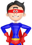Super cartoon close up Royalty Free Stock Photos