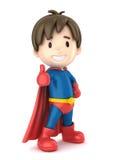 Super chłopiec Zdjęcia Stock
