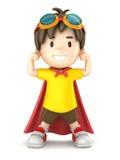 Super chłopiec Zdjęcie Royalty Free