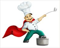 Super chef Stock Photos