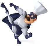 Super chef-kok Royalty-vrije Stock Foto's