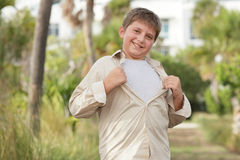 Super child Stock Images