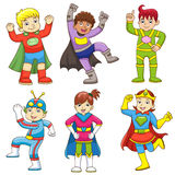 Super child Stock Image