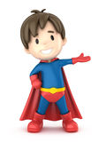 Super chłopiec Zdjęcie Stock