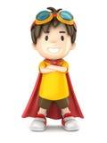 Super chłopiec Zdjęcia Royalty Free