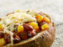 Super Chorizo Chili puchary Obraz Stock