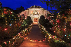 Super Christmas House Royalty Free Stock Images