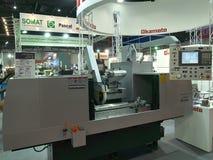 Super ciężka maszyna w asiean metallex bitec 2014 bangna, Bangkok Fotografia Stock