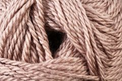 Earth Tone Yarn Texture Close Up. A super close up image of earth tone yarn stock photography