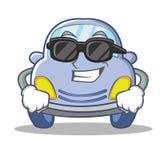 Super cool cute car character cartoon Royalty Free Stock Image