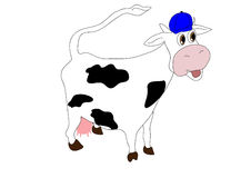 Super cow Stock Photos