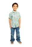 Super cute happy 5 years old boy Stock Images