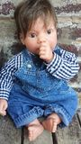 Super Cute Realistic Doll Royalty Free Stock Photo