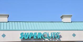 Super Cuts Beauty Salon stock image