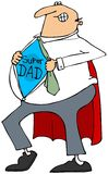 Super Dad Stock Photography