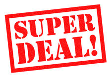 SUPER DEAL! Royalty Free Stock Photo