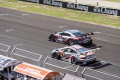 Super Definitieve Race 66 van GT Overlappingen bij 2015 AUTOBACS SUPER GT om 3 BU Royalty-vrije Stock Foto's