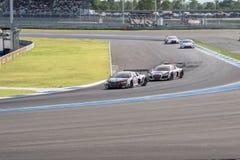 Super Definitieve Race 66 van GT Overlappingen bij 2015 AUTOBACS SUPER GT om 3 BU Royalty-vrije Stock Afbeelding