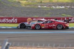 Super Definitieve Race 66 van GT Overlappingen bij 2015 AUTOBACS SUPER GT om 3 BU Royalty-vrije Stock Foto