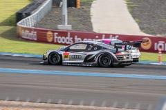 Super Definitieve Race 66 van GT Overlappingen bij 2015 AUTOBACS SUPER GT om 3 BU Stock Afbeelding