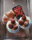 Italian christmas pasticcini. Super dessert in Italy Stock Images