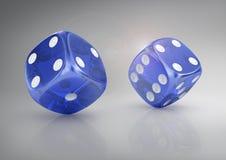 Super dice. Royalty Free Stock Photos