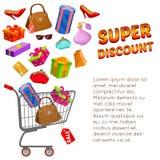 Super Discount Design Stock Photos