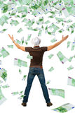 Super dividends. Royalty Free Stock Photos