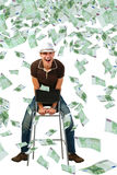 Super dividends. Royalty Free Stock Image