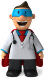 Super doctor Royalty Free Stock Photo