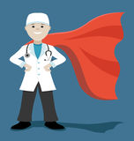 Super doctor. Stock Photography