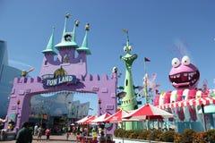 Super dummes Spaß-Land bei Universal Studios Hollywood Lizenzfreie Stockfotografie