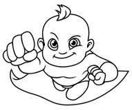 Super dziecka Kreskowa sztuka ilustracji