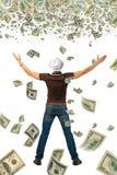 Super earnings. Stock Photos