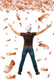 Super earnings. Royalty Free Stock Photo