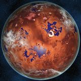 Super Earth Royalty Free Stock Image