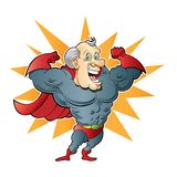 Super Elderly Man. This is an image of a super elderly mamn Stock Photo