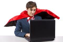 Super Employee Royalty Free Stock Image