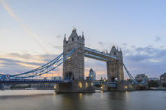 The super famous Tower Bridge of London Stock Photos