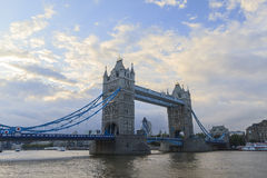 The super famous Tower Bridge of London Royalty Free Stock Photos