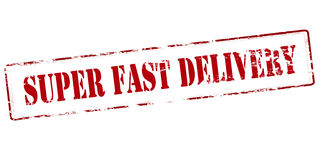 Super fast delivery Royalty Free Stock Photo