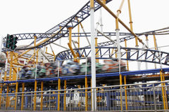 Super fast roller coasters Royalty Free Stock Photography
