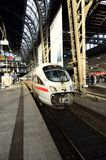 Super fast train in Hamburg train station Royalty Free Stock Photo