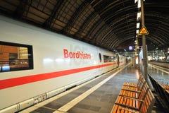 Super fast train. ICE train Stock Images