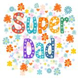 Super Fathers Royalty Free Stock Photography