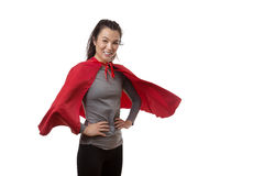 Super fit woman Royalty Free Stock Photography