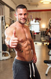 Super fit young man. Stock Image