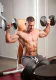 Super fit young man. Royalty Free Stock Photos