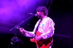 Super Flurry Animals (band) in concert at Vida Festival Stock Photo