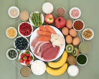 Super Food for Body Builders Royalty Free Stock Image